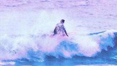 天国に一番近いビーチ多々戸浜<br> スタイリッシュサーファー石原壮プロ<br>ヘブンビーチライディング