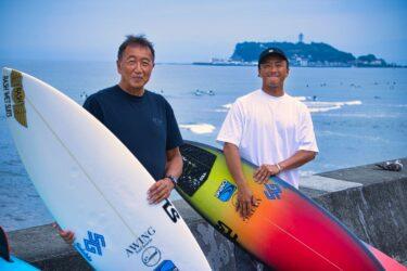 AWING SURFBOARDS<br>大澤伸幸氏 小川昌男氏インタビュー Vol.1<br><i><font color=